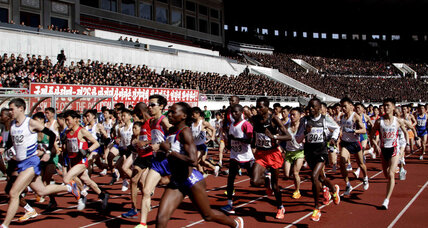 North Korea opens up to host marathon