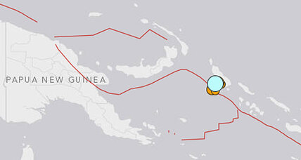 Papua New Guinea earthquake: One of six strong quakes this week