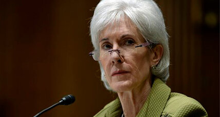 Kathleen Sebelius resigning as secretary of Health and Human Services