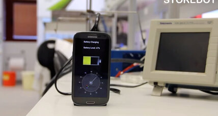 StoreDot's big promise: Fully recharge your phone in 30 seconds