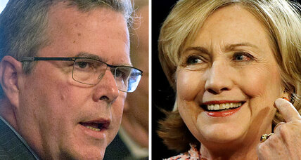 Why does Hillary Clinton outpoll Jeb Bush in his own state?