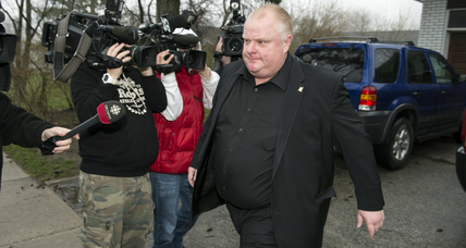 Toronto Mayor Rob Ford taking leave of absence as report of second crack video surfaces