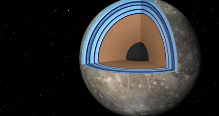 Could Jupiter's moon Ganymede host life? Layer-cake model advances the idea.
