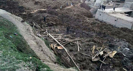 Afghanistan landslide kills at least 350 people, with hundreds still trapped