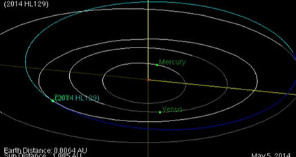 Earth buzzed by bus-sized asteroid