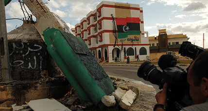 In Libya, media freedom isn't bulletproof