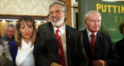 Sinn Fein leader Adams charges unlikely according to analysts