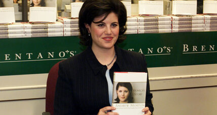 Monica Lewinsky speaks. Will article bring back politics of the '90s? (+video)
