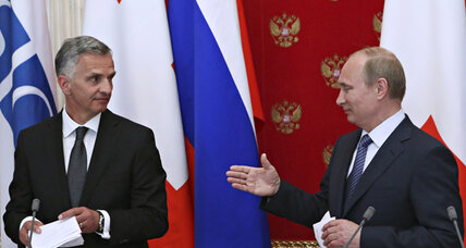 Has Putin extended an olive branch to Kiev?