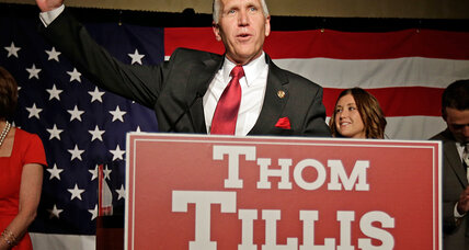 No joy for tea party in early round of GOP primaries, including N. Carolina