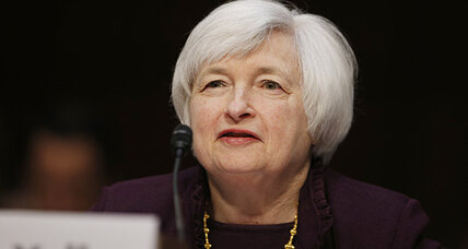 Janet Yellen: Economy improving, but housing a concern