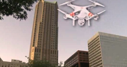 Whose drone is it? St. Louis high-rise crash heralds age of private drones. (+video)
