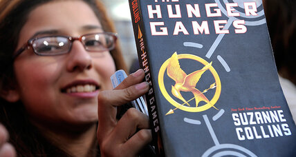 What are kids reading? Books like 'Hunger Games,' but classics, too.