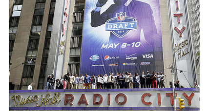 NFL draft 2014 vs. NBA playoffs: Which should you watch? (+video)