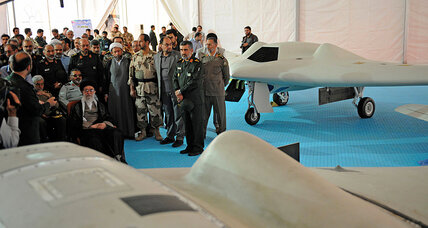 A 'nightmare becoming reality'? Iran unveils American drone replica.