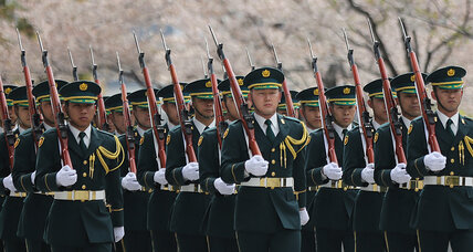 Amid controversy, Japan weighs reinterpreting its pacifist Constitution (+video)