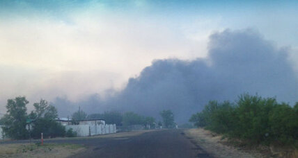 Texas Panhandle wildfire torches 75 homes, as drought conditions persist (+video)