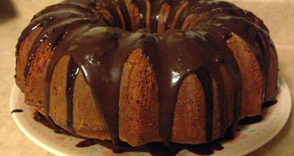 Orange chocolate chunk Bundt cake