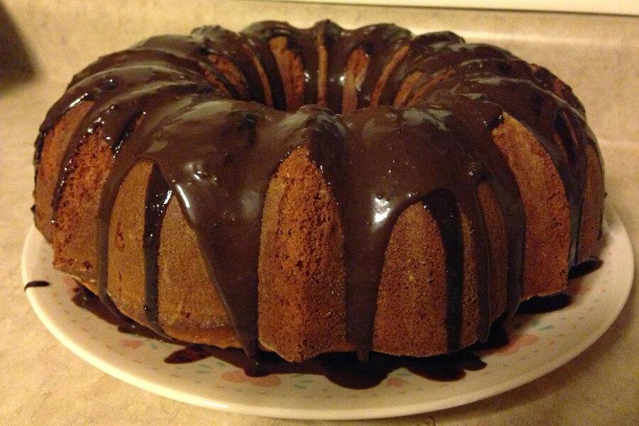 Orange chocolate chunk Bundt cake - CSMonitor.com