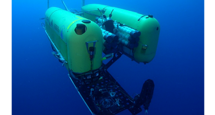 Six miles under the Pacific, a robot implodes