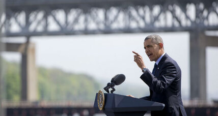 Obama warns transportation money will run out if Congress dawdles (+video)