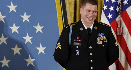 Medal of Honor recipient recalls friends who fell in 'ambush alley' every day