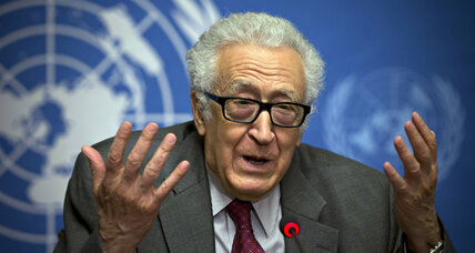 Syria peace prospects dim as Brahimi heads for the exit
