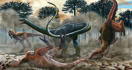 First-of-its-kind long-necked dinosaur found in South America