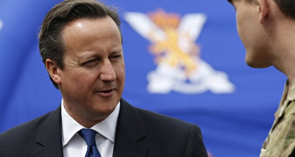 Cameron heads north to woo Scotland. But is he his own worst enemy?