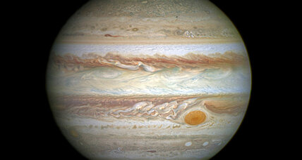 Is Jupiter's Great Red Spot turning into Jupiter's Pretty Good Red Spot?