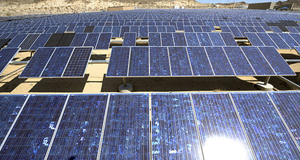 Roads paved with...solar panels?