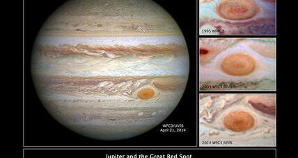 Jupiter's Great Red Spot is shrinking, say astronomers