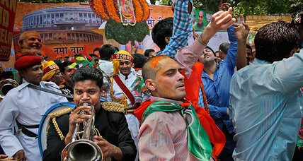 Pakistanis wary of Modi's triumph in Indian election