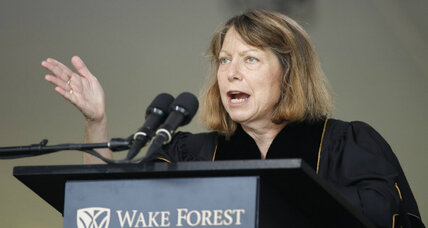 Ousted NY Times editor Jill Abramson tells grads: 'Show what you are made of'