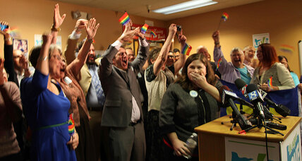 US judge strikes down Oregon gay marriage ban as state refuses to defend it