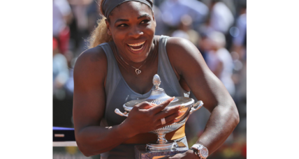 Novak Djokovic and Serena Williams win big in Rome
