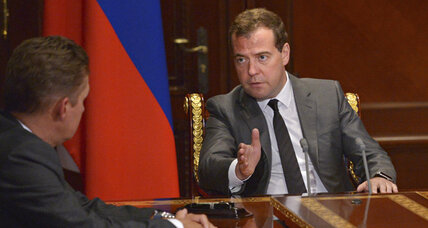 Russian PM chastises US for doing 'what the Soviet Union did in the past'