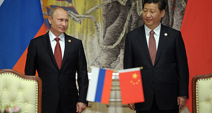 China signs deal for Russian gas, boosting Putin's Asia pivot