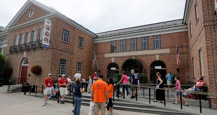 Obama visits Cooperstown. Which president knew baseball best? (+video)