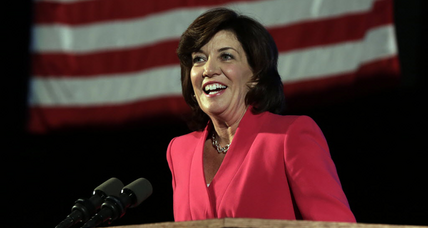 Kathy Hochul chosen by Andrew Cuomo for Lt. Gov