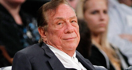 Shown the door, Clippers owner Donald Sterling at last finds the exit