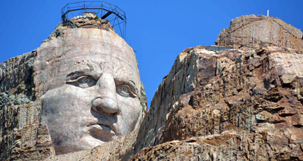 Crazy Horse monument led by 3 after death of widow