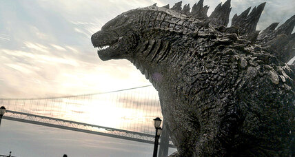 Nice monster! New 'Godzilla' fuses American and Japanese beasts (+video)