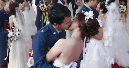 Wedding tourism in Taiwan: lots of flash, little cash