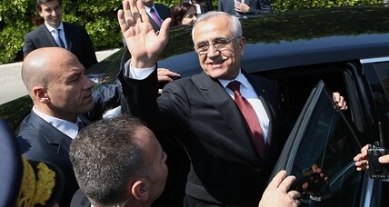 Lebanese president's term ends, with no one to take his place