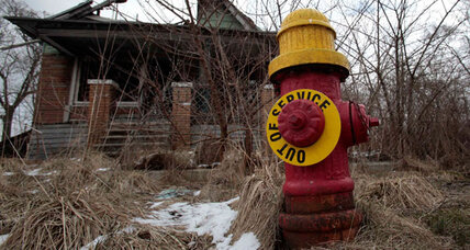 Why bankrupt Detroit wants to destroy nearly one-quarter of its houses (+video)