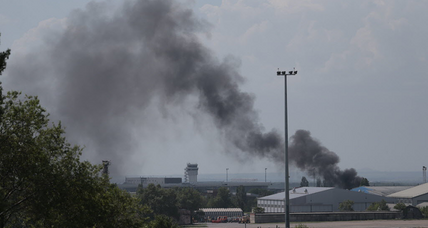 Ukraine airstrikes, helicopter attacks kill 30 insurgents