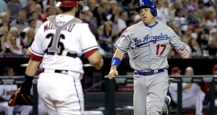 A.J. Ellis hurt, disabled while celebrating Josh Beckett no-hitter