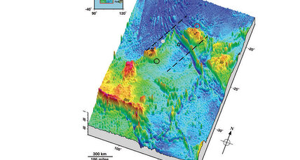 How a new seafloor map could aid in the search for Malaysian Airlines Flight 370