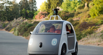 New Google car has no steering wheel, brake pedal